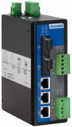 IES615-2DI Series Switch Manageable Nv2 - 5 ports 10/100 avec 2 ports série 3EN1