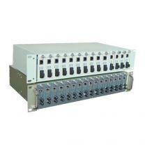 RACK2000 - Rack 16 slots pour cartes convertisseur de Media Ethernet