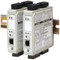 965EN - Modules d'E/S déportées, Ethernet, Modbus/TCP : 4 ou 6 entrées Thermocouple / mV