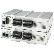 E/S déportées EtherStax 2163 : 64 E ANA/C, 2 ports RJ45, ModBus TCP