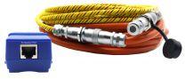 LWSC10 - Corde de détection d'eau avec localisation AKCP