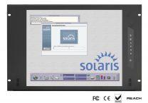 SP-xxx - Ecran rackable en façade Compatible SUN