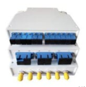 BOITEDIN6SCD - Boîtier de distribution optique RAIL DIN