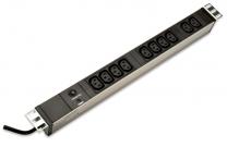 """PDU10pC13-1U-10 - Bandeau d'alimentation 19"""" 10 prises C13 / Connecteur C14 1U"""