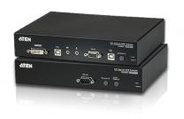 CE680 - Déport KVM DVI câbles Fibre optique USB / Mini-Jack / RS-232