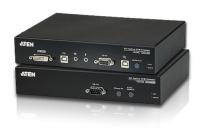 CE690 - Déport KVM DVI câbles Fibre optique USB / Mini-Jack / RS-232