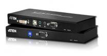 CE602 - Déport KVM DVI câbles CAT.5e USB / Mini-Jack / RS-232