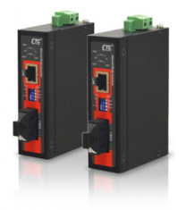 IMC-100C Convertisseur de fibre 10 / 100Base-TX à 100Base-FX Compact