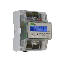 DZT 6014 TRI - Compteur Tri impulsionnel - Branchement sur TI /5A