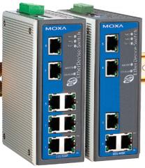 EDS-405A/408A-PN Commutateurs Ethernet administrables à 5 et 8 ports compatibles PROFINET