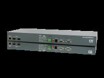 FMUX800/1600 - Multiplexeur 8/16 E1 + 4GBE sur fibre MM / SM avec protection 1+1