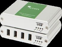 Ranger 2324/2344 - Extendeur 4 ports USB 2.0 sur fibre optique