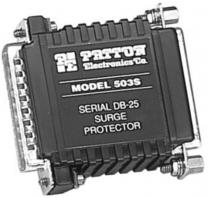 Patton 503S - Parasurtenseur miniature RS232, 25 circuits