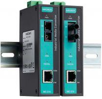 IMC-101G - Convertisseurs industriels Ethernet Gigabit vers fibre