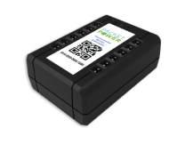 E312 - Boitier raccordement radio pour capteurs d'environnement - 12 ports Temp + 1 Humidité