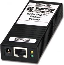 Patton 2110 - booster Ethernet 10/100 Mbps 200 mètres