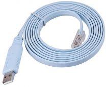 Câble série pour port console RS232 vers USB - compatible Cisco et Windows 10